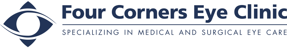 Four Corners Eye Clinic Logo Blue
